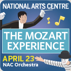 NAC presents the Mozart Experience