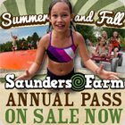 Saunders Farm annual passes for family fun!