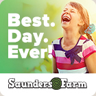 Have a great summer at Saunders Farm!