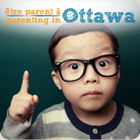 Picture of a boy with the Parenting in Ottawa bilingual logo. Ad links to Ottawa Public Health�s Parenting in Ottawa website.