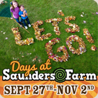 Fall family fun fun at Saunders Farm!