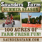 Summer fun at Saunders Farm!