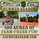 Summertime fun at Saunders Farm!